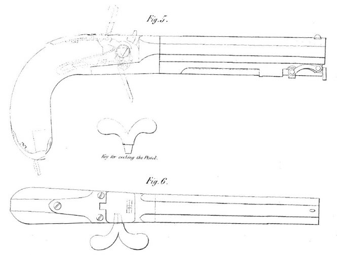 J. R. Cooper patent GB7610, April 10. 1838