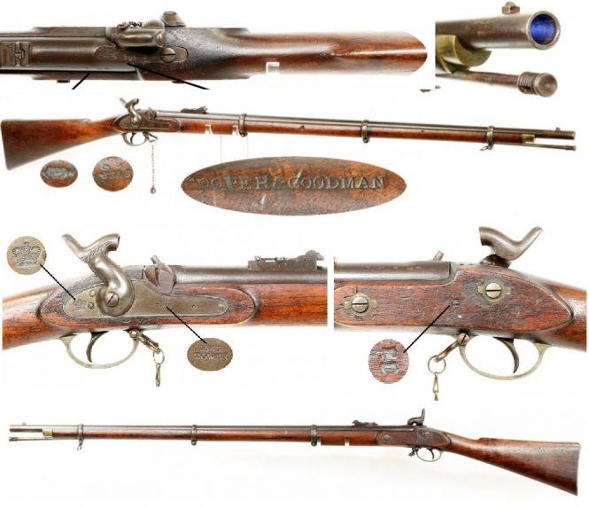 Cooper & Goodman Pattern 1853 Type III Enfield Rifle Musket