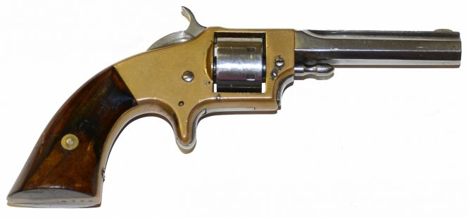 Rollin White Arms Co. Pocket Revolver, First Type