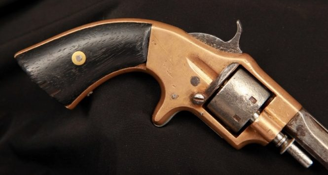 Rollin White Arms Co. Pocket Revolver, Second Type Variant with ejector
