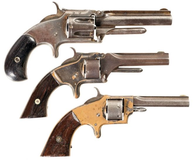Smith and Wesson №1 revolvers, Rollin White Arms Co. Revolver