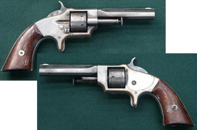 Lowell Arms Company Pocket Revolver Second Type Variant with ejector