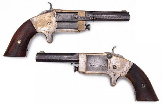 Rollin White Arms Company Single Shot Pocket Pistol .32 Caliber Rimfire