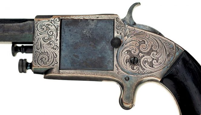 Rollin White Arms Company Single Shot Pocket Pistol .38 Caliber Rimfire
