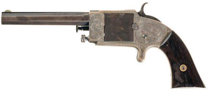 Rollin White Arms Company Single Shot Pocket Pistol .38 Caliber Rimfire