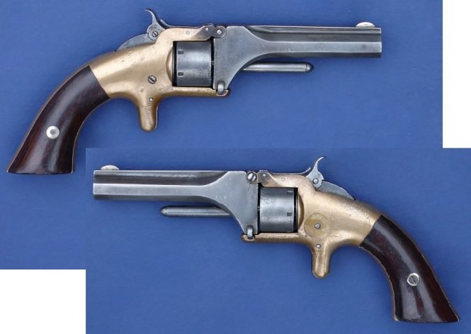 Smith & Wesson Model 1 First Issue 6th Type Revolver