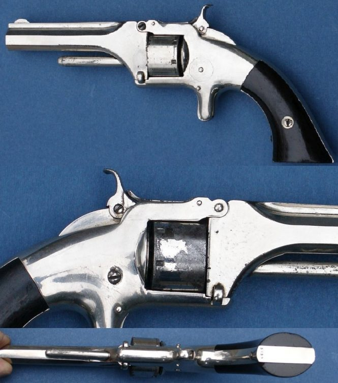 Smith & Wesson Model 1 First Issue 4th Type Revolver