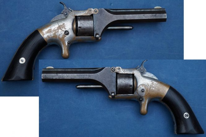 Smith & Wesson Model 1 First Issue 3th Type Revolver