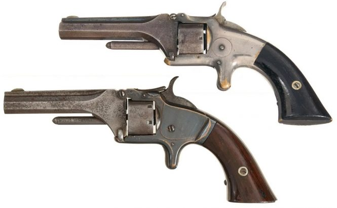 Smith & Wesson Model 1 First Issue and Second Issue