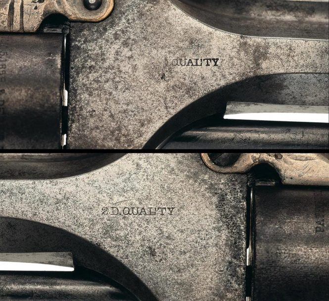 Smith & Wesson Model 1 Second Issue, 2D QUALTY Marked