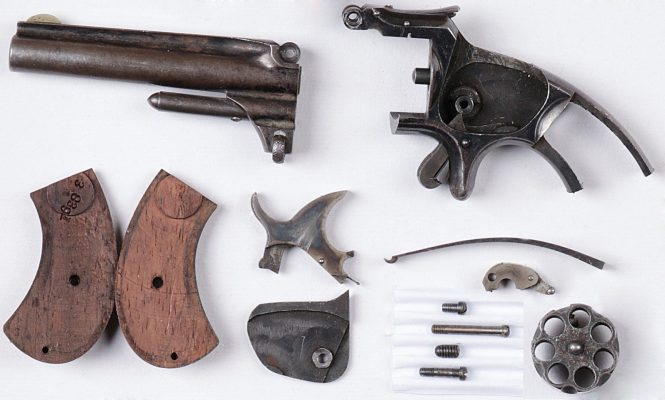 Smith & Wesson Model №1 Third Issue Revolver Disassembled