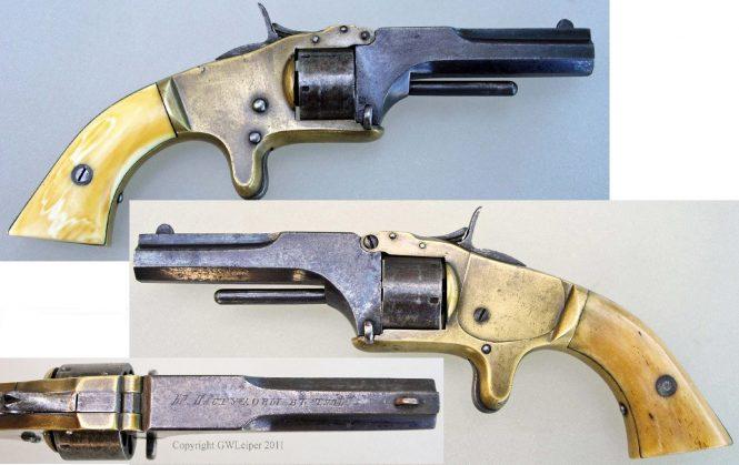 Револьвер Смит и Вессон братьев Пастуховых из Тулы