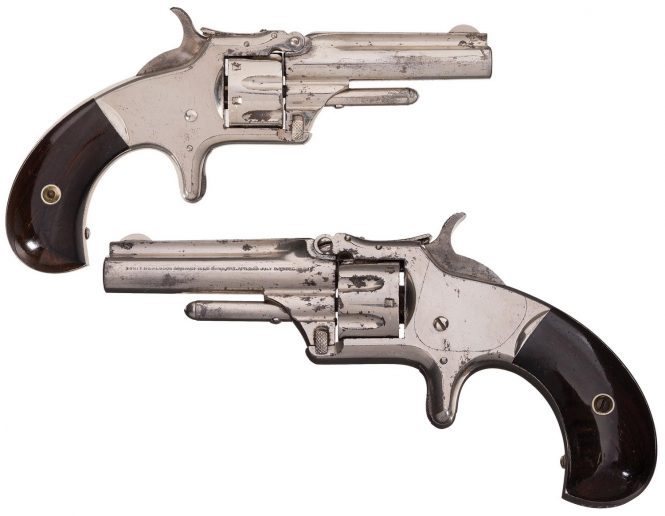 Smith & Wesson Model №1 Third Issue Revolver 2 11/16'' barrel